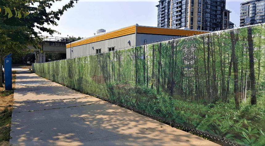 Fence Banner