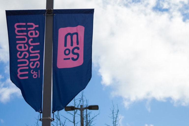 Museum of Surrey Banner